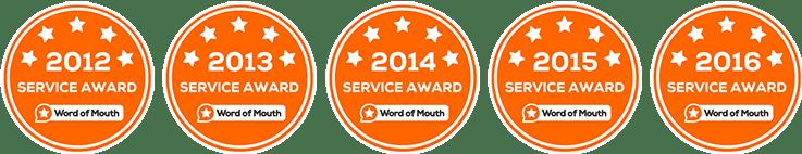 Womo Awards 2012 - 2016 Natural Pain Solutions